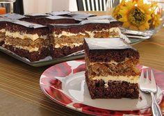 ciasto czekoladowo orzechowe