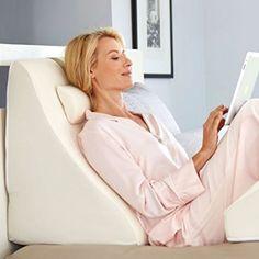 Memory Foam Pillow Bed Wedge System Comfort Sleep Adjustable Back Leg Support  #MemoryFoamPillow