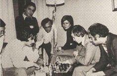 Walter Brown, Anatoly Karpov y Mikhail Tal.