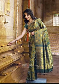 Pothys proudly presents the best destination for Silk Sarees online shopping. Buy Pure silk sarees, wedding silk sarees online and make your D - days festive. Absolute fashions including dresses for women, Men and Kids. All Indian Actress, Indian Actress Gallery, Tamil Actress, Indian Actresses, Trisha Saree, South Indian Silk Saree, Silk Sarees Online Shopping, Indian Look, Lace Overlay Dress