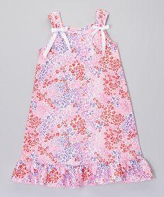 Look at this #zulilyfind! Pink Leopard Nightgown - Toddler & Girls by Consolidated Clothiers #zulilyfinds