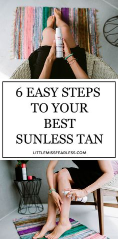 How to get more glowing skin and a longer-lasting sunless tan! It's all in the prep. #sunlesstan #selftanner