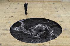 Anish Kapoor's Perpetual Black Water Whirlpool |