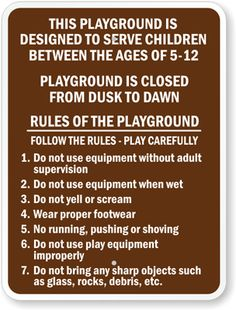 Playground-Rules-Sign-K-5212.gif (304×400)
