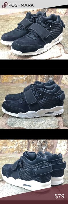 Nike Air Victor Cruz Trainer Black Suede Men sz 9 Nike Air Victor Cruz Mens  Size