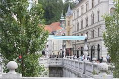 Plecnik's architectural designs can be seen throughout the city of Ljubljana.