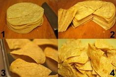 Clean Eating Chips And Guacamole Recipe ~ https://www.thegraciouspantry.com
