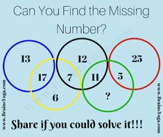 Olympic Rings Math Brain Teaser for kids with Answer-Puzzles Riddles Brainteasers Picture Puzzles Brain Teasers, Math Puzzles Brain Teasers, Math Logic Puzzles, Puzzles Für Kinder, Brain Teasers For Kids, Math Jokes, Math Humor, Puzzles For Kids, Brain Teasers Pictures