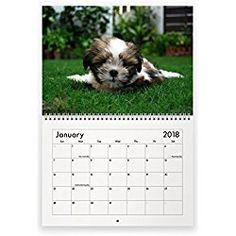 The 15 Best Shih Tzu Calendars 2018 Images On Pinterest Calendar