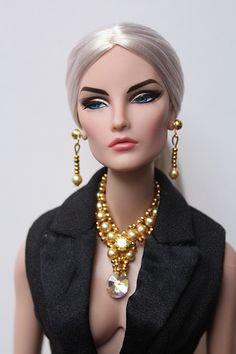 FR Elise Jolie modelling jewelry by Isabelle from Paris. www.etsy.com/shop/IsabelleParisJewels