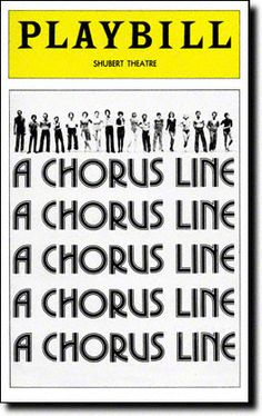 On this date in 1975, A CHORUS LINE began its legendary Broadway run. Read the opening night Playbill in the Vault