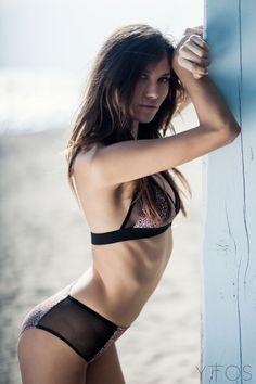 'Bait' Ray High Waisted Bikini W/ Sheer Details