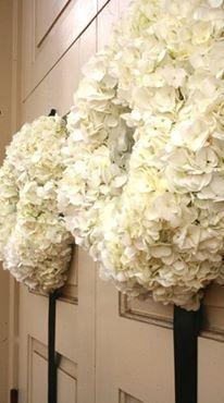 Wedding Wreaths | Wreath Ideas | Wedding Details |
