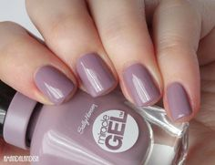 Amandalandish: Sally Hansen Miracle Gel Swatches and Review
