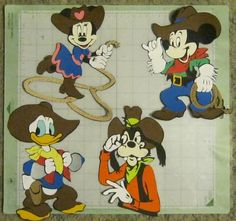 Free svg file of Mickey and frontierland