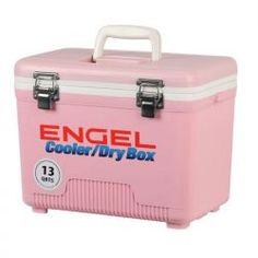 Engel Dry Box Cooler 13 Qts in PINK