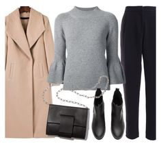 """""""Winther/Fall/spring look"""" by marias1808 ❤ liked on Polyvore featuring Carolina Herrera and MM6 Maison Margiela"""