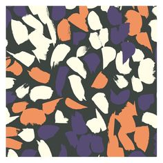 Blossom Coral - Atelier Brunette / Tissus graphique / Graphic fabrics
