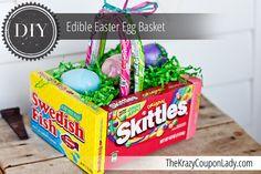 DIY Super EASY Edible Easter Basket!!!