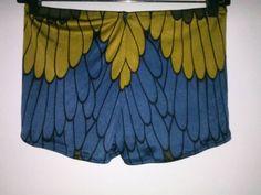 Rio Silk Underwear  Hip-Cut Boyshort Style by EricaWaddellClothing