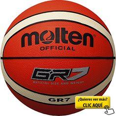 Molten  BGR7-OI - Pelota para entrenamiento de baloncesto, color naranja #balon #basket