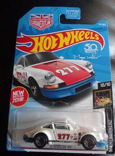 2017 Mattel Hot Wheels 1:64 1971 Porsche 911 White Die-cast Car Marcus Walker  #HotWheels #Porsche