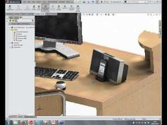 SolidWorks PhotoView 360 - Lights Cameras and Scenes - YouTube