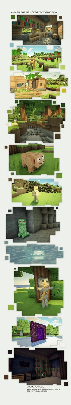 texture pack [1.7.2] Smoothic très sympa