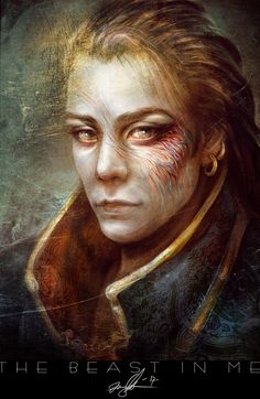 The Beast In Me by Kirsi Salonen | Portrait | 2D | CGSociety