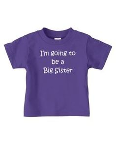 stated as fact Sister Shirts, Trust Me, Infant, Sisters, Baby Boy, Purple, Tees, Toddlers, T Shirt