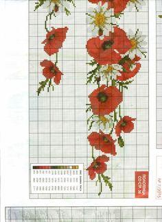 Gallery.ru / Фото #8 - Flores ponto cruz Barrado - ArtesaJn