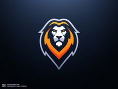 Lion eSports Logo Tutorial Dasedesigns designed by Derrick Stratton. Connect with them on Dribbble; the global community for designers and creative professionals. Badges, Beast Logo, Gaming Logo, Logo Esport, Tolle Logos, Logo Tutorial, Channel Logo, Game Logo Design, Esports Logo
