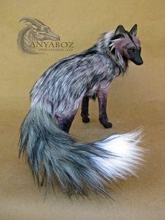 Silver Berry Fox Room Guardian by AnyaBoz on DeviantArt