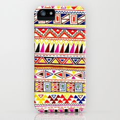 Triangle Tribal Print iPhone & iPod Case by ashleyg13 - $35.00