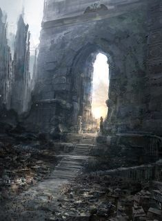 world gate, klaus wittmann on ArtStation at http://www.artstation.com/artwork/world-gate