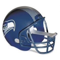 ATTENTION sports fans! Tackle your projects with the help from this Seattle Seahawks NFL football helmet scotch tape dispenser from 3M for your home and office. A great gift idea!