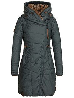Naketano Female Jacket Der Geist II Dark Green, XS