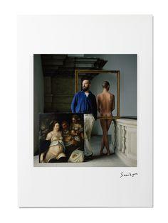 Snowdon blue print: Georg Baselitz
