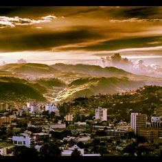 Gorgeous pic of Tegucigalpa- getting ready to move here!