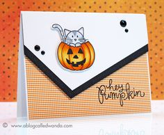 This card was made with the new Simon Says Stamp set for 2013. I'll post the card and a Copic tutorial on my blog Friday night! www.ablogcalledwanda.com