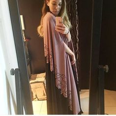 Abaya cape again back to our store