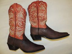 nutz about ARIAT heritage boots