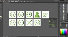 Vector Icons for a medical software.  For mais info check my blog: http://ritacabral.wordpress.com/2014/10/24/vectorial-icons-for-software/