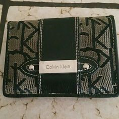 Calvin Klein wallet Small Calvin Klein wallet with multiple credit card slots. Calvin Klein Bags Wallets