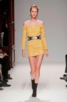 París Fashion Week primavera/verano 2012-2013: Balmain