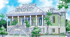 Marquilla-Front Elevation-Plan #6865
