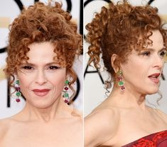 14 of the Prettiest Golden Globes Updos from Every Angle Golden Globe Award, Golden Globes, Hair Hacks, Hair Tips, Hair Ideas, Faux Bob, Bernadette Peters, Old Hollywood Style, High Ponytails