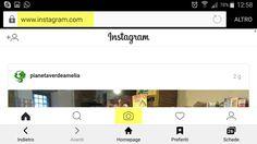 Come caricare le foto su instagram senza app!