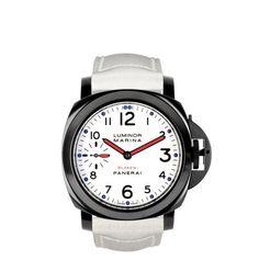 "Premium watch customizer Blaken presents its new Panerai Luminor Marina ""Tricolor"" series. Uncover more at High Snobiety http://www.highsnobiety.com/2012/08/21/blaken-panerai-luminor-marina-tricolor/"