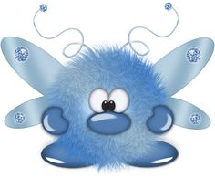 """Photo from album """"Пушистики"""" on Yandex. Cute Monsters Drawings, Funny Monsters, Cartoon Drawings Of Animals, Cartoon Monsters, Smileys, Monster Theme Classroom, Monster Clipart, Naughty Emoji, Blue Nose Friends"""